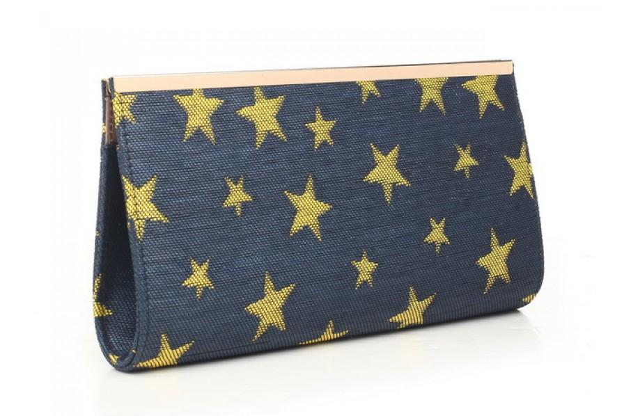 42f3be055f Bessie London Navy Star Clutch Bag – Honeybee Boutique