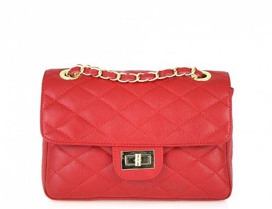 Italian Leather Hobo Bag in Cognac