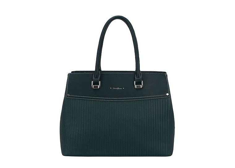 David Jones Tote Bag in Dark Green