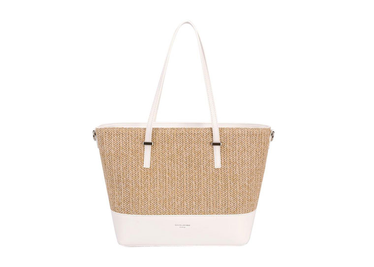 David Jones Mini Shopper in White