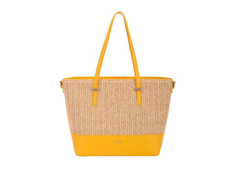 David Jones Mini Shopper Yellow