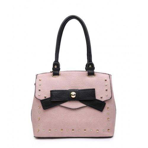 Pink Bow Fashion Tote Bag