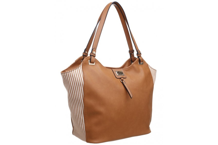 Bessie London Shoulder Bag in Tan