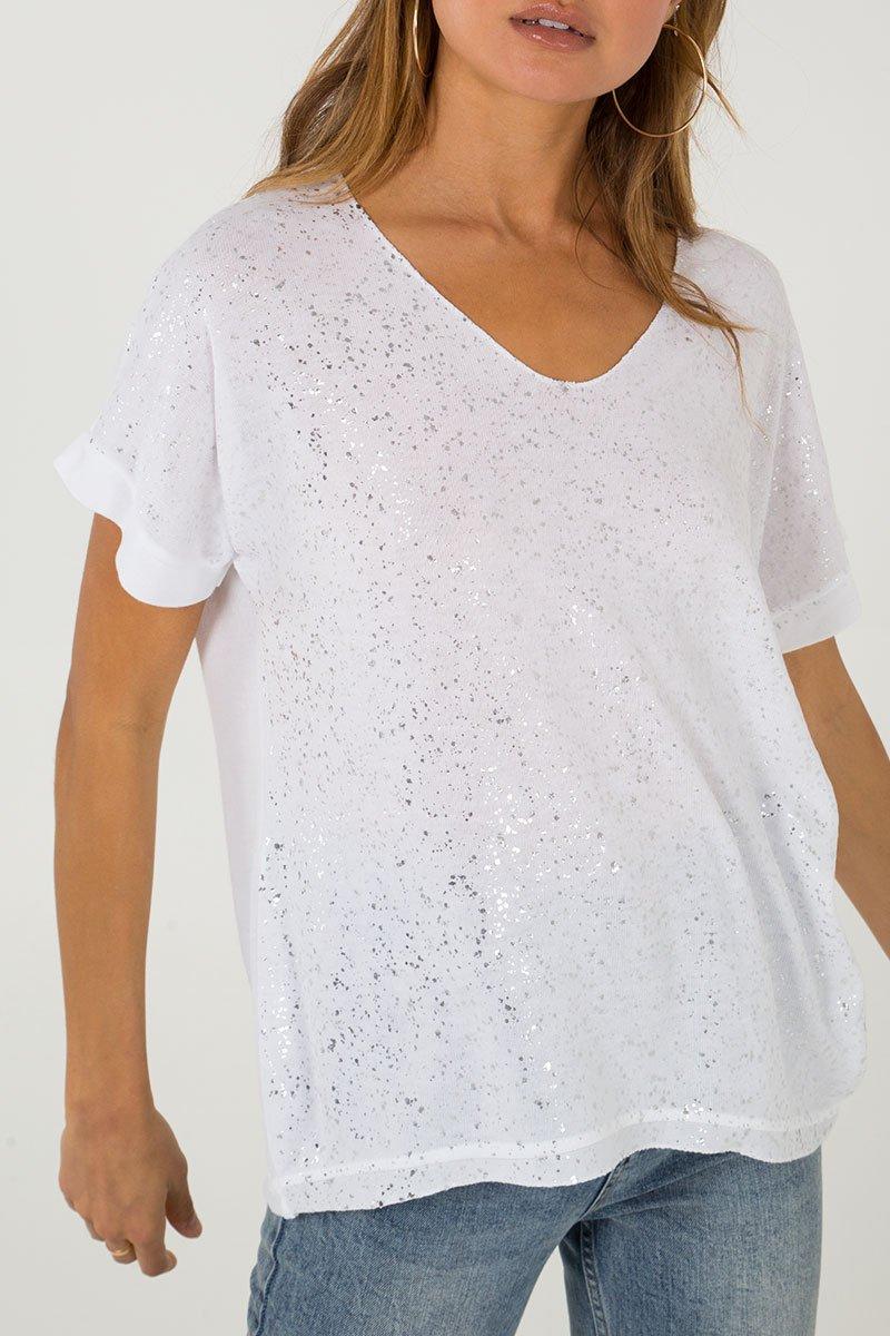 White Splash Top